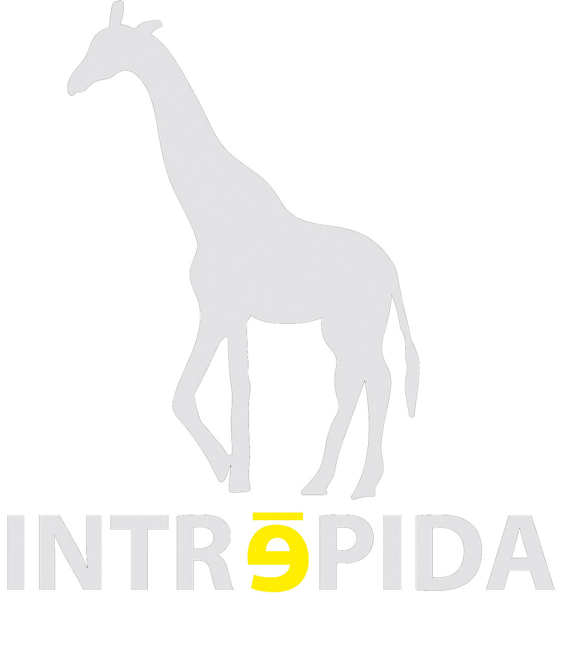 Logo intrépida blanco